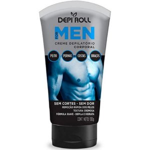 Creme Depilatório Corporal Depi Roll For Men 130Gr