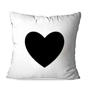Almofada coração black