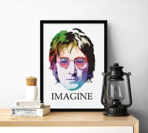Quadro decorativo Imagine