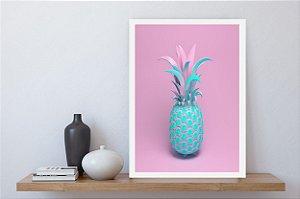 Quadro decorativo abacaxi