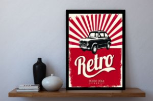 Quadro decorativo retro