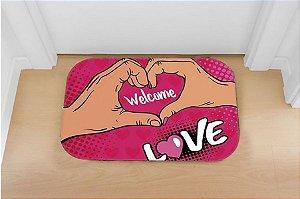 Tapete decorativo Love