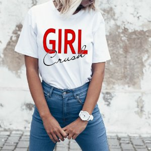 Camiseta T-shirt Feminina crush