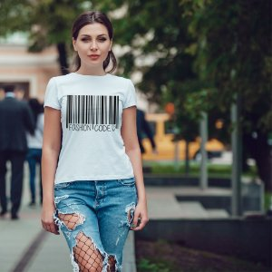 Camiseta T-shirt Feminina fashion code