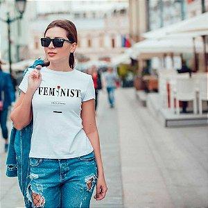 Camiseta T-shirt Feminina feminist