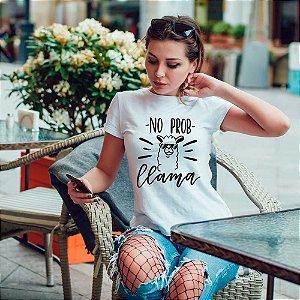 Camiseta T-shirt Feminina no prob