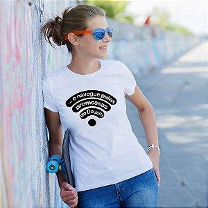 Camiseta T-shirt Feminina Promessas