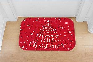 Tapete decorativo Natal Vermelho