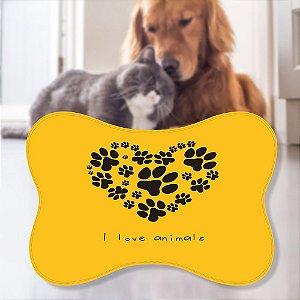 Tapete Pet Pegada