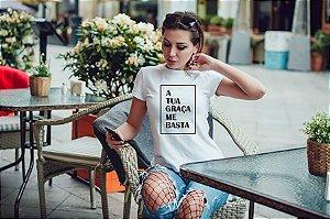 Camiseta T-shirt Feminina Graça