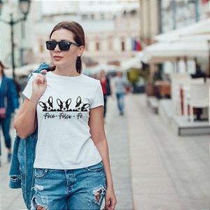 Camiseta T-shirt Feminina Foco
