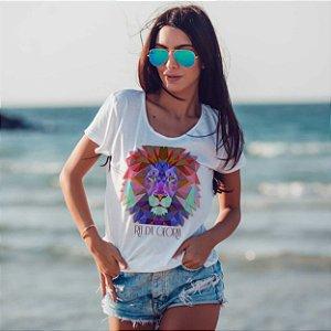 Camiseta T-shirt Feminina Rei
