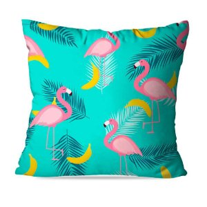 Almofada Flamingos Rosa Top