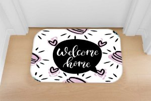 Tapete decorativo welcome cake
