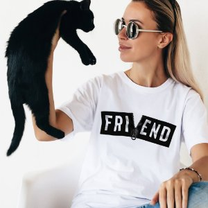 Camiseta T-shirt Feminina what Friend