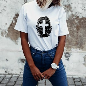 Camiseta T-shirt Feminina Digital De Deus