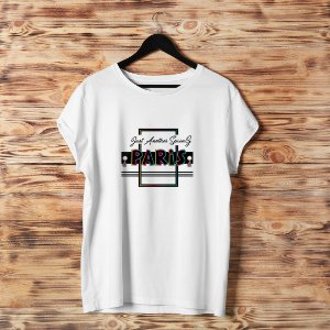 Camiseta T-shirt Feminina Paris