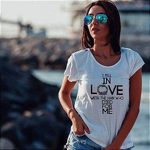 Camiseta T-shirt Feminina  In Love