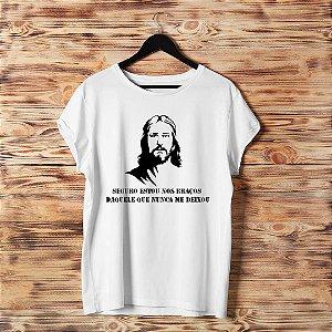 Camiseta T-shirt Feminina  Jesus