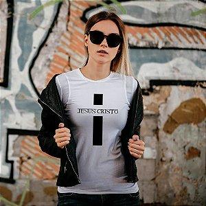 Camiseta T-shirt Feminina  Jesus Cristo