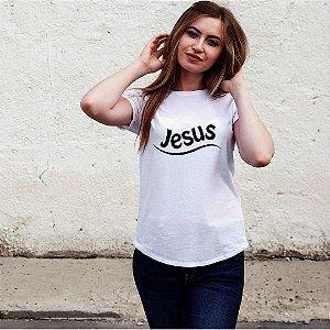 Camiseta T-shirt Feminina  Jesus 01