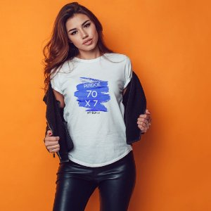 Camiseta T-shirt Feminina Perdoe