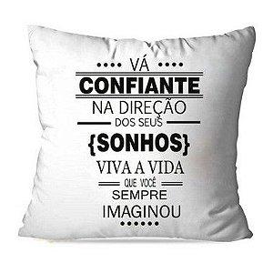 CAPA OU ALMOFADA VÁ CONFIANTE 01