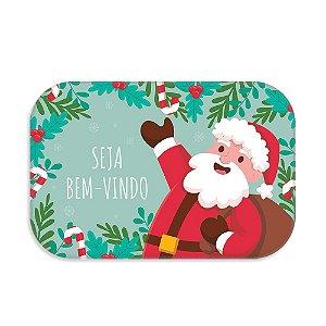 Tapete decorativo  Natal-Seja bem vindo