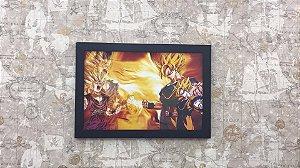 Quadro Goku e Gohan