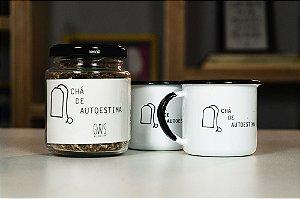 Kit: 2 canequinhas + 1 blend Chá de Autoestima