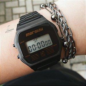 798415163fe Relógio Mormaii Vintage Digital MOJH02AB 4P Dourado - Juli Pratas e ...