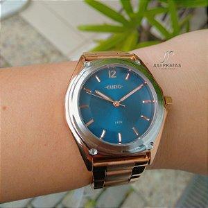 46c08a703a745 Relógio Euro Feminino Color Slim Azul - EU2035YOX 4A - Juli Pratas e ...