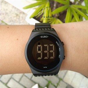 bb3931c8e1ee8 Relógio EURO Feminino FASHION FIT PRETO EUBJ3279AB 4P - Juli Pratas ...