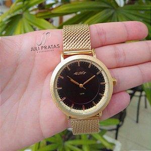 ba88b35a03912 Relógio Euro Construções Feminino Dourado EU2039JM 4P