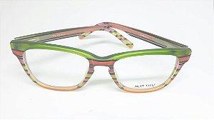 Óculos italiano pintado a mão Mattisse - Rainbow 5m