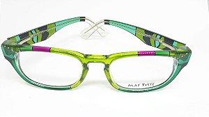 Óculos italiano pintado a mão Mattisse - Butterfly Green