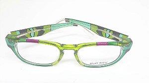 Óculos italiano pintado a mão Mattisse - Butterfly GreenD