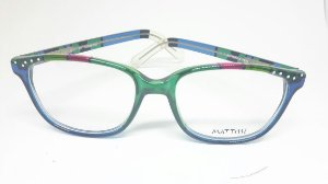 Óculos italiano pintado a mão Mattisse - Butterfly Teal