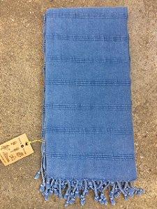 Fouta Azul - Toalha Turca artesanal de algodão de alta qualidade