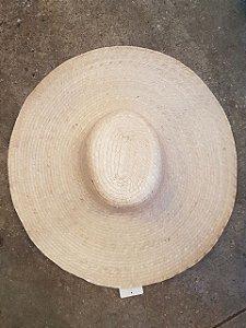 Chapéu de palha artesanal