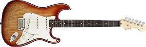Guitarra Fender American Standard Stratocaster Ash Sienna Burst(Semi Nova)