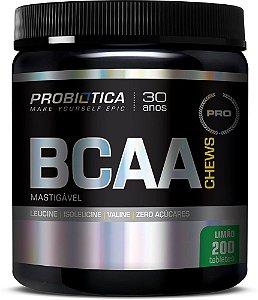 BCAA Chewable Mastigavel - Limão (200 caps) - Probiótica