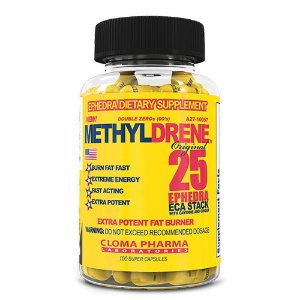 Methyldrene (100 cápsulas) - Cloma Pharma