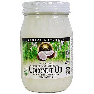 Óleo de Coco (60 cápsulas) - Natural Source