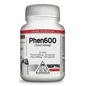 Phen 600 - Snake Nutrition (150 caps)