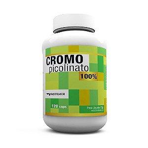 Picolinato de Cromo - Nutrata (120 caps)