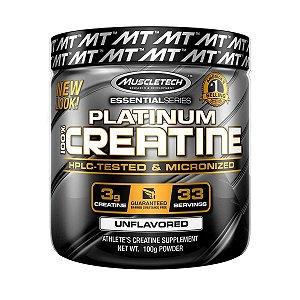 Platinum 100% Creatina - Muscletech (100g / 400g)