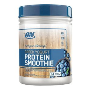 Greek Yogurt Protein Smoothie - Optimum Nutrition