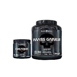 [MASSA] Mass Gainer (3kg) + Creatina (150g)