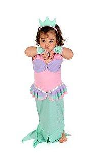 Roupa de Brincar Pequena Sereia - Ariel